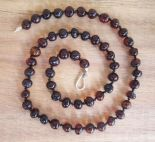 Parent and Child Amber Necklace set - Cherry