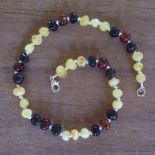 Island Mix Amber Teething Necklace